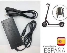 Cargador de batería compatible para patinete scooter Xiaomi Mijia M365
