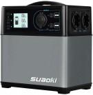 SUAOKI – 400Wh/120,000mAh Generador Portátil Solar, Cargador de Batería
