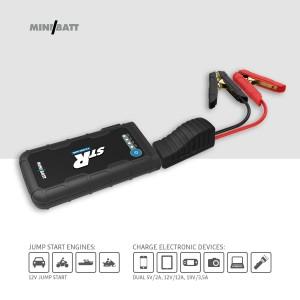 STR – Miniarrancador para coches 12.000 mAh de MiniBatt