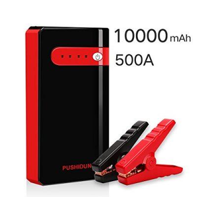 Arrancador de Coche Portatil 10000mAh 500A Jump Starter Power Bank Arrancador de Moto Arranque para 12V 2.5L
