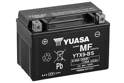 Batería Yuasa YTX9-BS de BS, 12 V/8Ah (tamaño: 150 x 87 x 105) para Kawasaki Z800 Diseño Año 2016