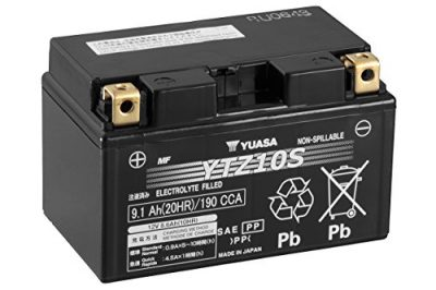 Batería Yuasa YTZ10S – No requiere mantenimiento