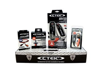 CTEK MXS5.0 (56-305) Toolbox Set – Cargador de batería con accesorios