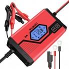 Suaoki – Cargador de Baterias Coche 4 Amp 6/12V, Mantenimiento Automático