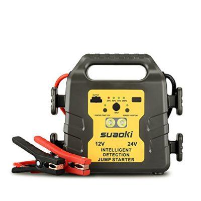 Suaoki G19S – 24000mAh jump starter, 1000A arrancador de coche 12v/24v
