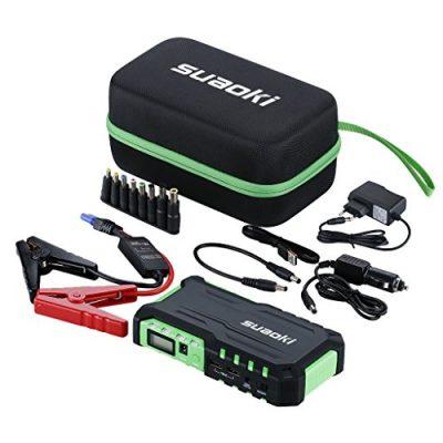 Suaoki G7 Starter, kit de arranque de coche, moto, barco, etc., con batería eléctrica para urgencias